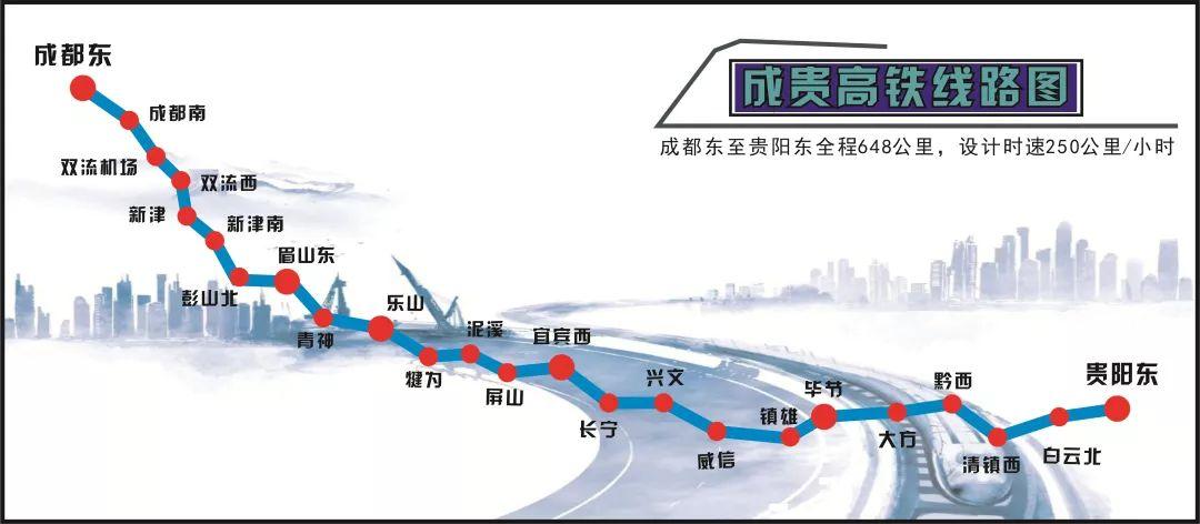 成贵高铁将于2019年12月16日全线通车!