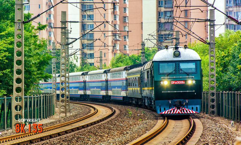 好看的火车图片