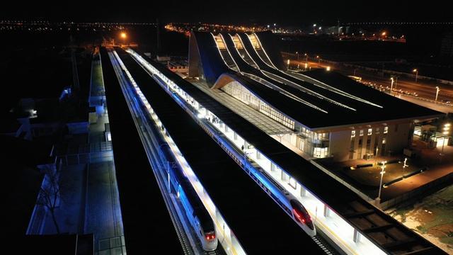 2020年12月1日京张高铁延庆支线通车
