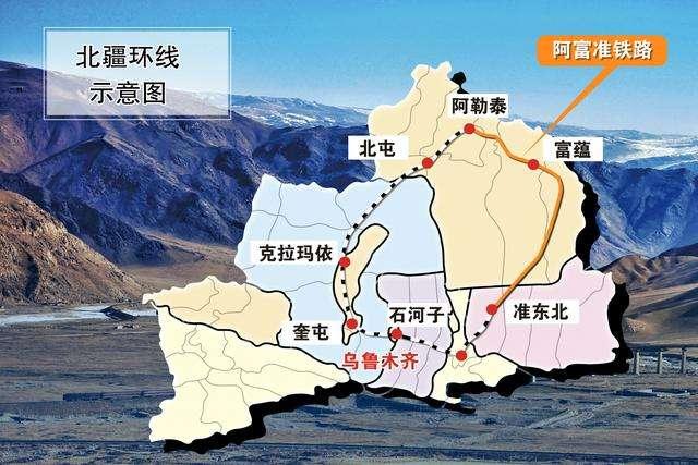 北疆raybet雷竞技客户端环线全线地图